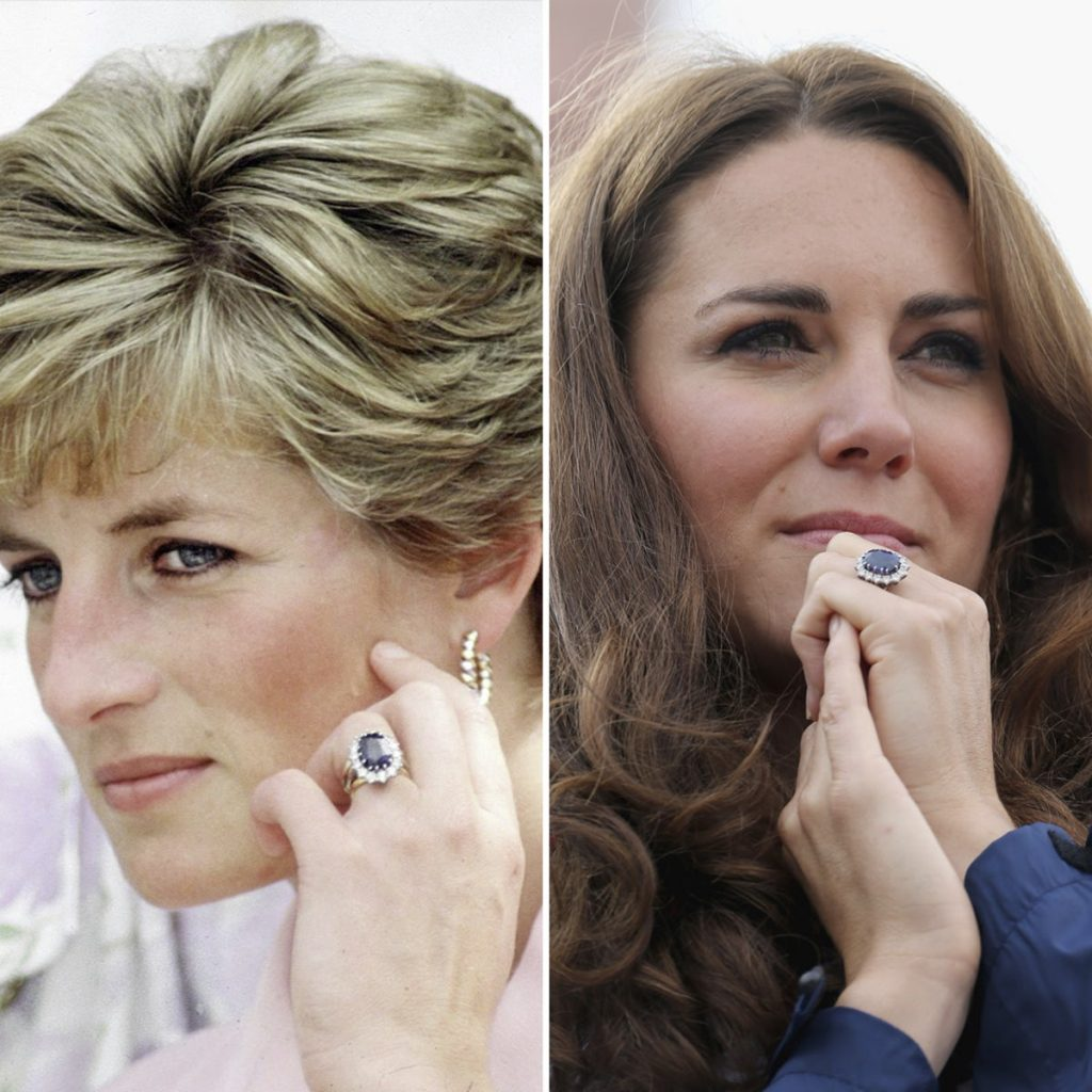 Pierścionek zaręczynowy księżnej Diany
