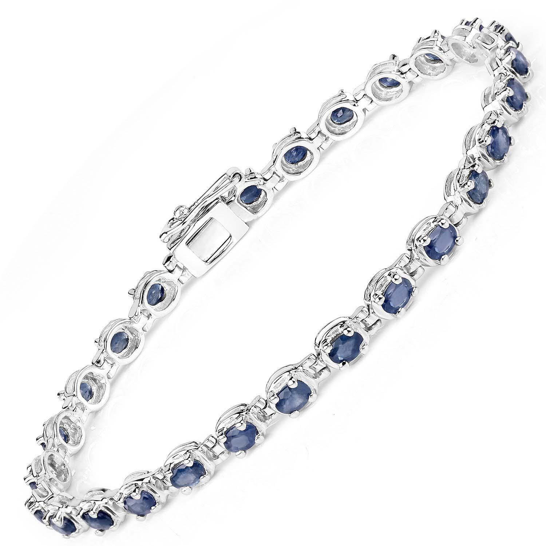 Sprawdź naszą kolekcję srebrnych bransoletek z szafirem